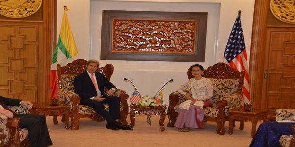 Daw Aung San Suu Kyi met with USA