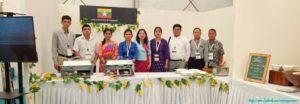 India International Hospitality Expo 2019(IHE19) တွင် မြန်မာ့အစားအစာ ရွှေတောင်ခေါက်ဆွဲ မိတ်ဆက်ချက်ပြုတ်ပြသခဲ့ခြင်း