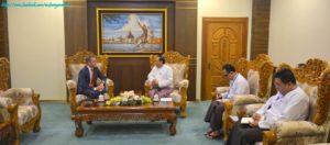 အပြည်ပြည်ဆိုင်ရာပူးပေါင်းဆောင်ရွက်ရေးဝန်ကြီးဌာန ပြည်ထောင်စုဝန်ကြီးက မြန်မာနိုင်ငံဆိုင်ရာ နယ်သာလန်နိုင်ငံ သံအမတ်ကြီးအား လက်ခံတွေ့ဆုံ