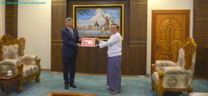 အပြည်ပြည်ဆိုင်ရာ ပူးပေါင်းဆောင်ရွက်ရေးဝန်ကြီးဌာန၊ ပြည်ထောင်စုဝန်ကြီးက မြန်မာနိုင်ငံဆိုင်ရာ တရုတ်ပြည်သူ့သမ္မတနိုင်ငံ သံအမတ်ကြီးအား လက်ခံတွေ့ဆုံ