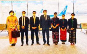 ဂျပန်နိုင်ငံတွင် အခက်အခဲကြုံတွေ့နေရသည့် မြန်မာနိုင်ငံသားများအား မြန်မာနိုင်ငံသို့ ပြန်လည်ခေါ်ဆောင်ခဲ့